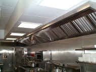 brushed stainless hood