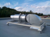 roof extract & ductwork